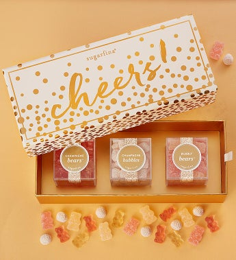 Sugarfina Cheers! Candy Bento Box® 3pc
