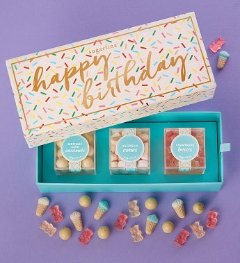Sugarfina Happy Birthday Candy Bento Box®