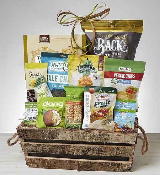 Guilt Free Snacks Gift Basket
