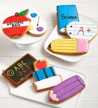 Back to School Artisan Iced Cookies
