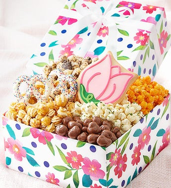 The Popcorn Factory Floral Delight Sampler