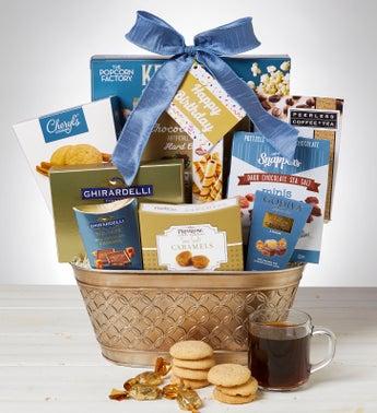 Majestic Grandeur Gourmet Birthday Gift Basket