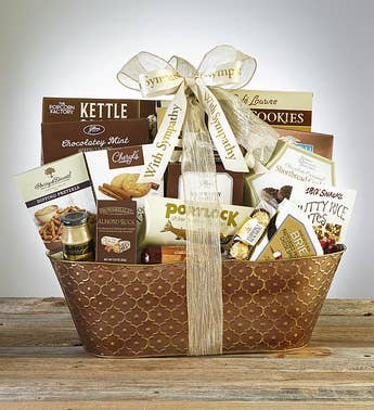 Well Always Remember Sympathy Basket
