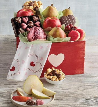 Harry  David Deluxe Valentines Day Gift Basket