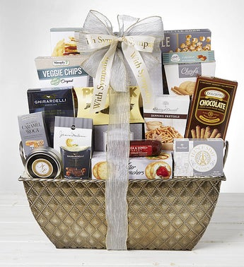 With Love  Remembrance Sympathy Basket