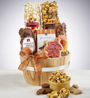 Grand Harvest Sweets  Savories Gift Basket