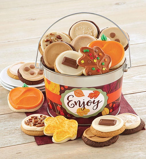 Cheryl's Fall Enjoy! Buttercream Bucket