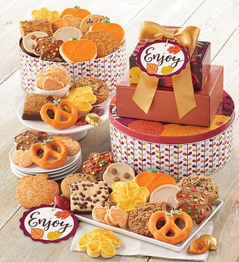 Cheryls Enjoy Fall Gift Tower
