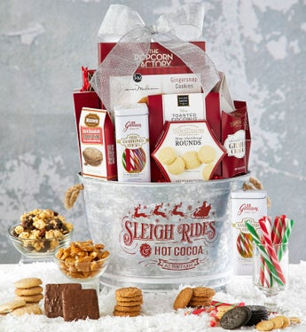 Sleigh Rides of Treats Basket