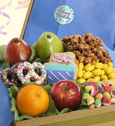Happy Birthday Fruit  Sweets Box