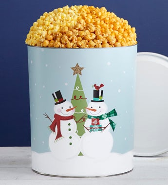 The Popcorn Factory Magical Holiday 3-Flavor Tin