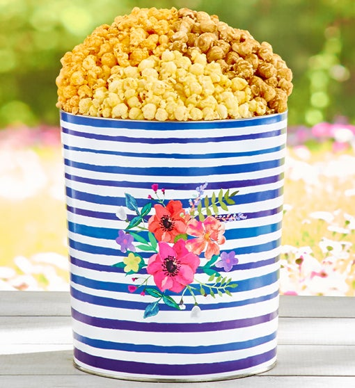 The Popcorn Factory® Colors of Spring 3-Flavor Tin