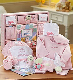 First Year Gift Set-Boy or Girl