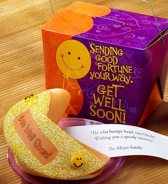 Personalized Gigantic Get Well Fortune Cookie