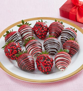 Cupids Choice Chocolate Dipped Strawberries