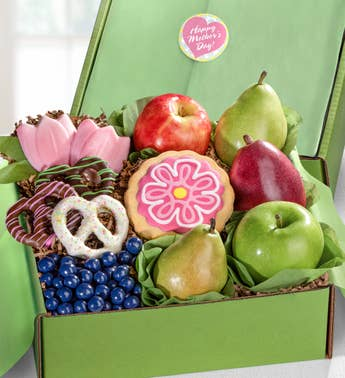 Happy Mother's Day Fruit & Sweets Gift Box