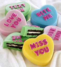 Love Note Conversation Heart Dipped Oreo® Cookies