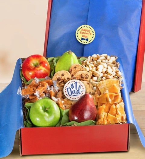 #1 Dad Fresh Fruit & Exceptional Sweets Box
