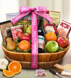 Mother's Day Farmstand Finest Fruit Gift Basket