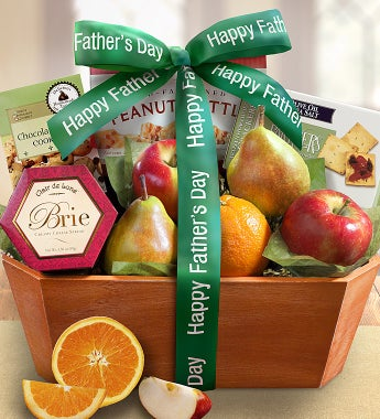 Father's Day Fresh From The Orchard Fruit Basket