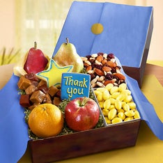 Thank You Fresh Fruit & Sweets Gift Box
