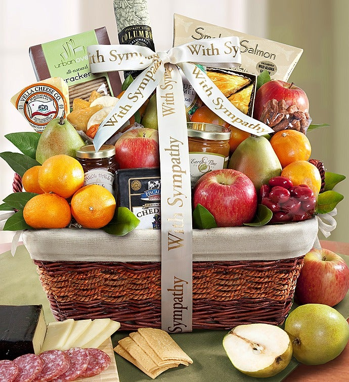 Sympathy Gift Basket Remembering Your Loved One & Sympathy Gift Baskets u0026 Sympathy Food Gifts | 1800Flowers.com