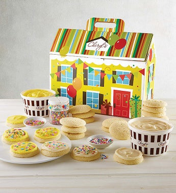 Cheryl's Birthday Cut-out Cookie Decorating Kit