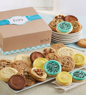 Cheryl39s Cookie Gift Boxes with Message Tag - 36 Cookies
