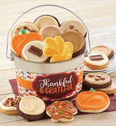 Thankful and Grateful Cookie Pail