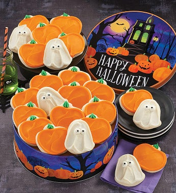 Buttercream Frosted Grand Halloween Gift Tin