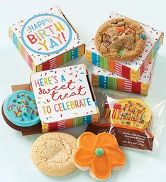 Happy Birth-Yay Cookie Card Choose Your Own Cookie