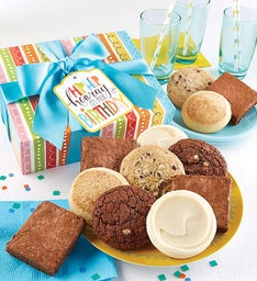 Gluten Free Birthday Cookie and Brownie Gift Boxes
