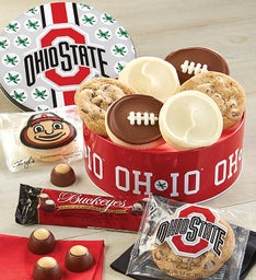 The Ohio State University Cookie and Buckeye Tin