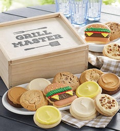 Grill Master Wooden Gift Box