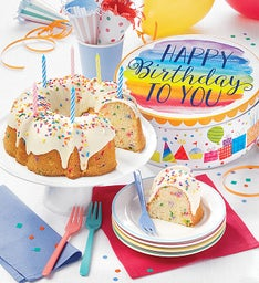 Musical Birthday Gift Tin with Miss Grace Cake