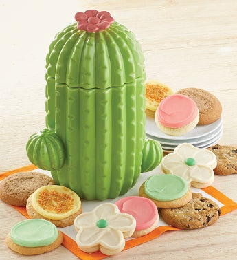 Collectors Edition Cactus Cookie Jar