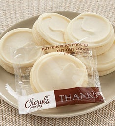 Buttercream Frosted Thank You Cut-out