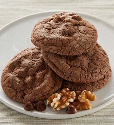 Gluten Free Walnut Brownie Cookie
