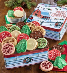 Collector's Edition Gift Tin Frosted Assortment