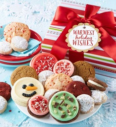Warmest Holiday Wishes Treats Boxes