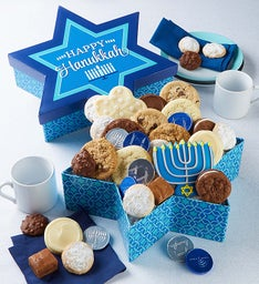Star of David Treats Box