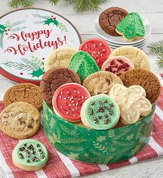Happy Holidays Gift Tin