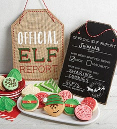 Elf Report and Cookies