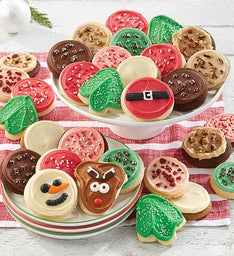 Deluxe Buttercream Frosted Holiday Cookies