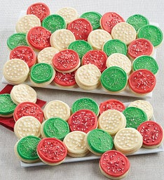 Buttercream Frosted Holiday Cut-out Gift Box