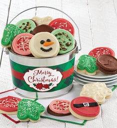 Merry Christmas Cookie Gift Pail
