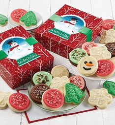 Snowman Cookie Boxes