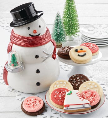 Collectors Edition Snowman Cookie Jar
