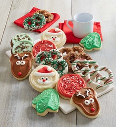 Holiday Pretzels and Cut Out Cookies