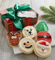 Home for the Holiday Cut-out Cookie Box